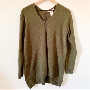 NWT Philosophy Dark Green Pullover Sweater